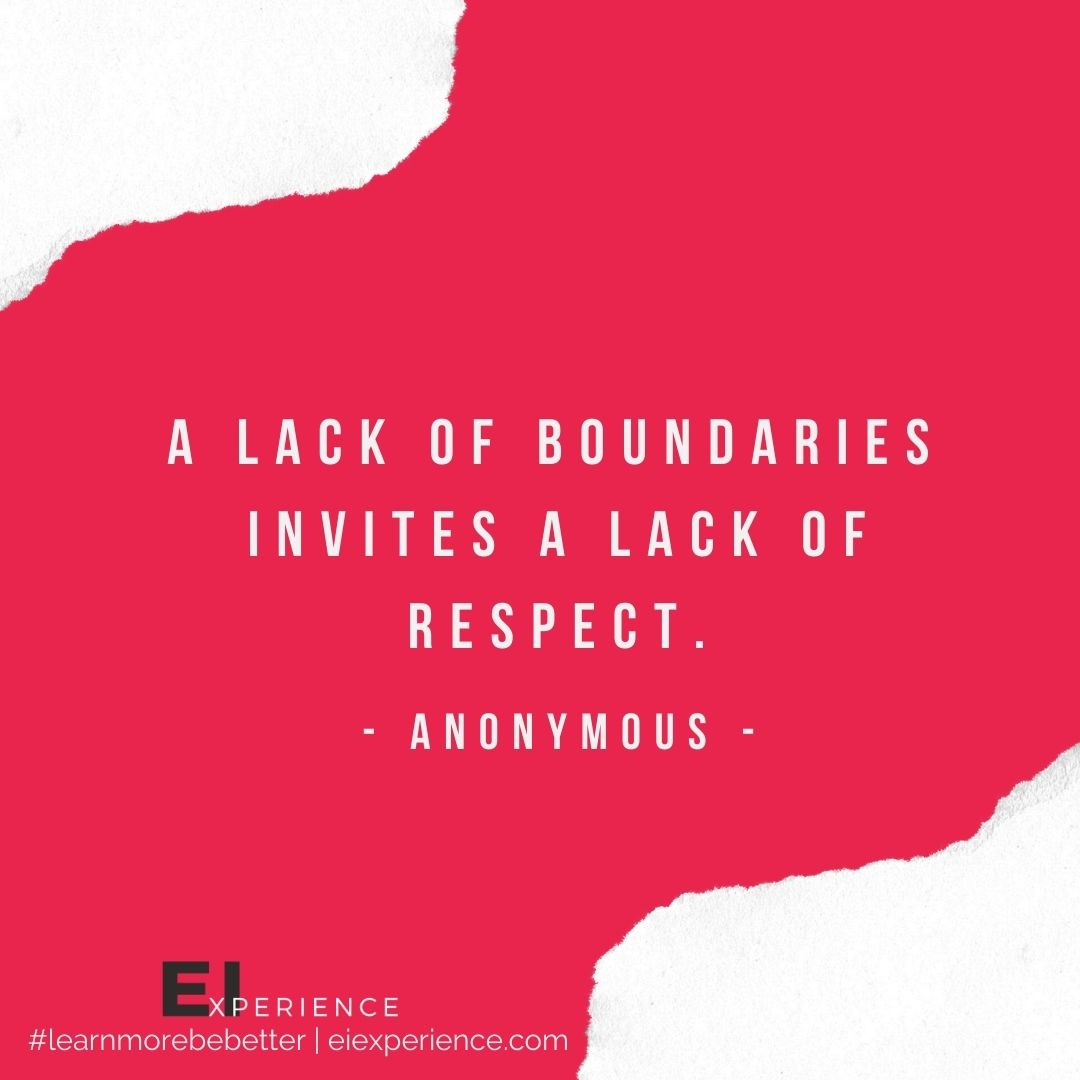 EI Insight - Setting Boundaries #2